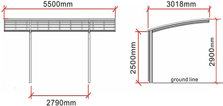 Canopy Dimensions